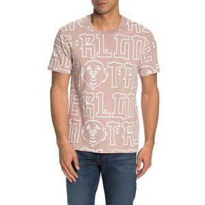 True Religion Men's Buddha All-Over Print T-Shirt